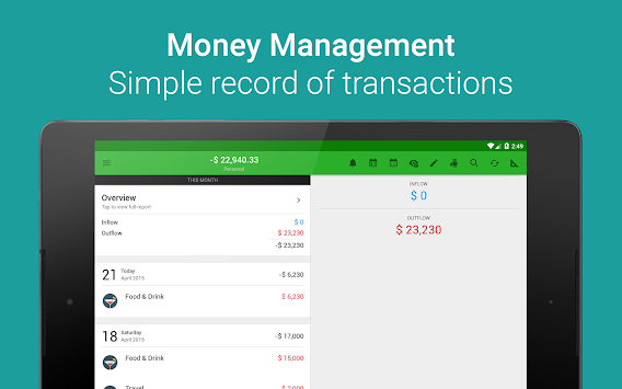 Rahaa Lover - Money Manager APK screenshot thumbnail 9