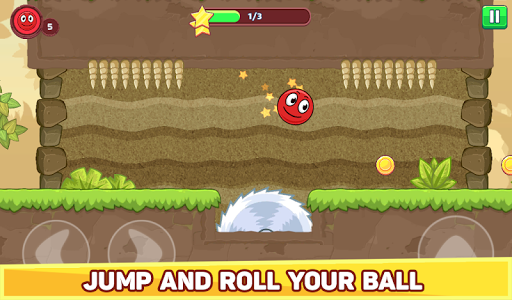 Bounce Ball 5 - Red Jump Ball Hero Adventure filehippodl screenshot 18
