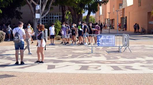 La Universidad de Almería arranca el curso con pruebas Covid-19 a sus empleados
