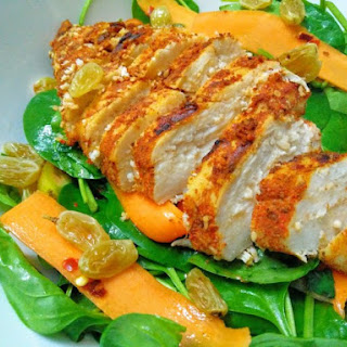 Baby Spinach & Carrot Salad
