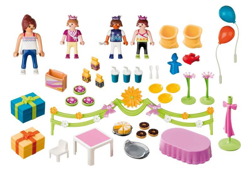 Contenido real de Playmobil® 5627 Fiesta de Cumpleaños