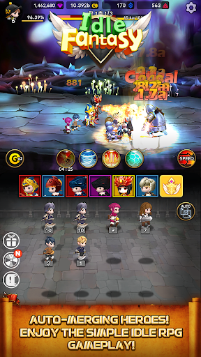 Idle Fantasy Merge RPG screenshot 18