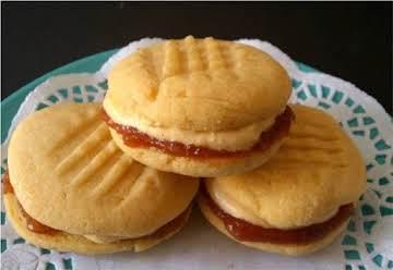Orange Custard Cookies Recipe