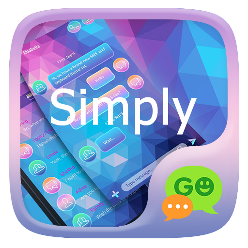 (FREE) GO SMS SIMPLY THEME