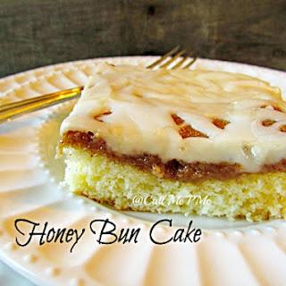Easy Honey Bun Cake