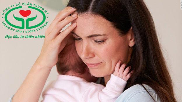 Rất nhiều phụ nữ sau sinh gặp phải tình trạng thiếu máu