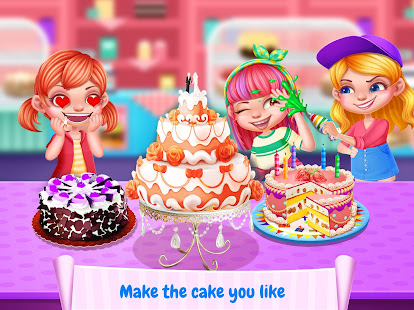 Cake maker apps on google play screenshot image solutioingenieria Images