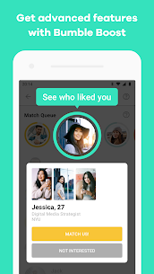 Bumble — Date. Meet Friends. Network App Download For Android and iPhone 5