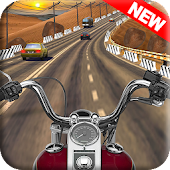 Highway Traffic Motorcycle Racing Game