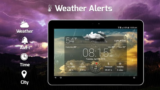 Weather Alerts 2018: Live Weather Forecast, Widget