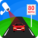 Speed Camera Free: Speed Radar Alert & Speedometer icon