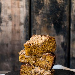Freekeh Pumpkin Coffee Cake with Walnut Streusel Recipe