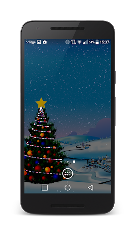 android Winter Live Wallpaper Screenshot 5