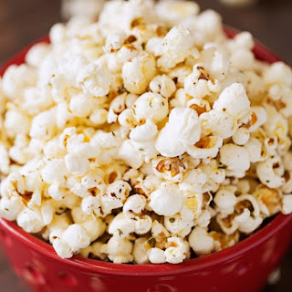 Garlic Parmesan Stove-Top Popcorn