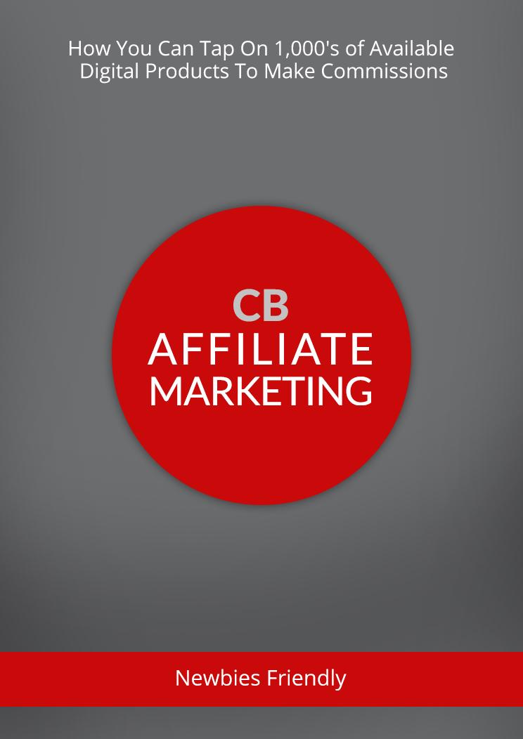 Cb Affiliate Marketing eBook Cover