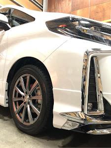 アルファード AGH30W H30.S Aパッケージのタイヤのカスタム事例画像 あずパパさんの2019年01月12日15:21の投稿