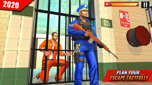 US Police Grand Jail break Prison Escape Games 1.9 screenshots 1