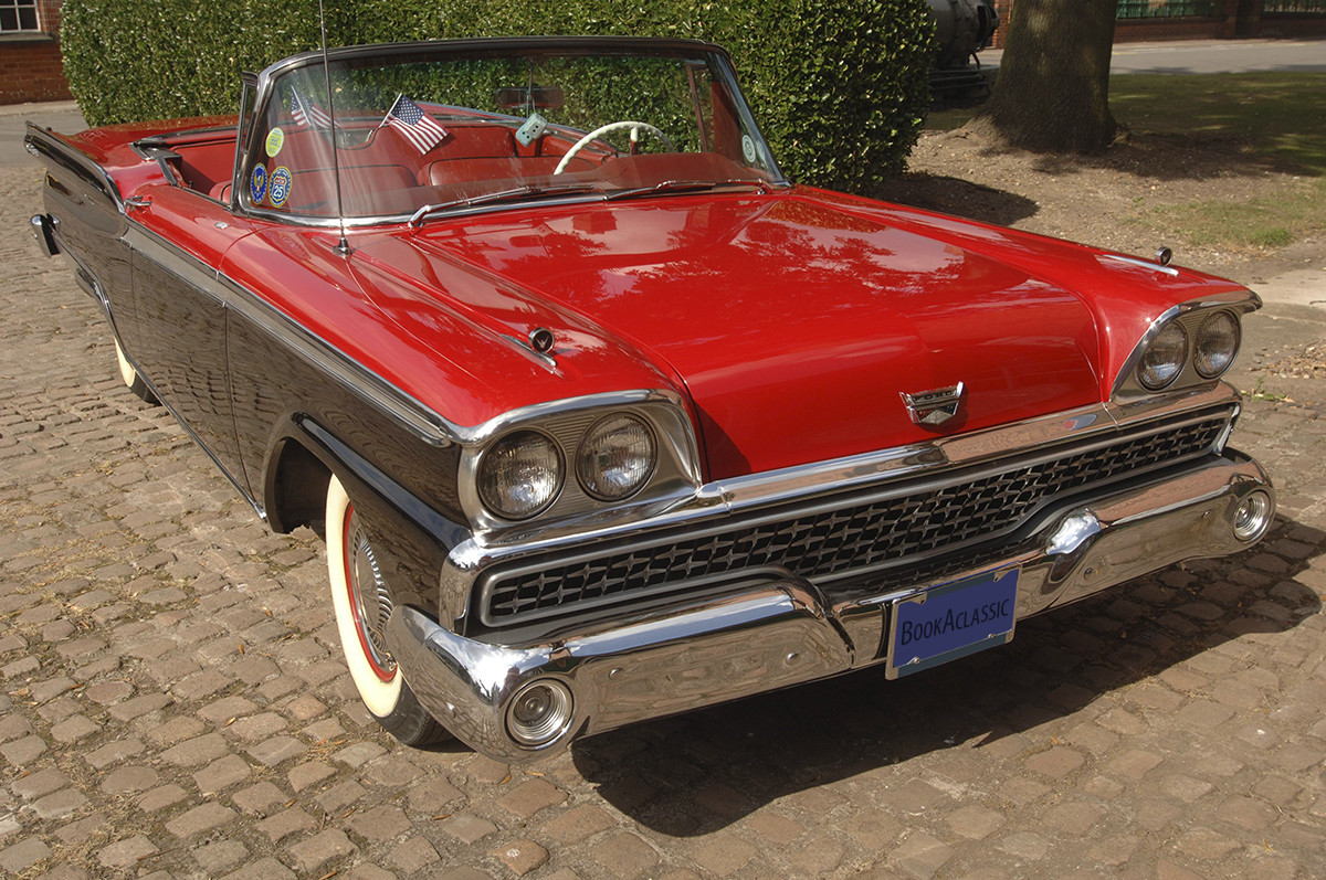 Ford Fairlane 500 Galaxie Skyliner Hire Leicester