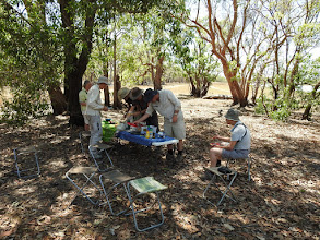 Photo: Picnic lunch at Leaning Tree Lagoon