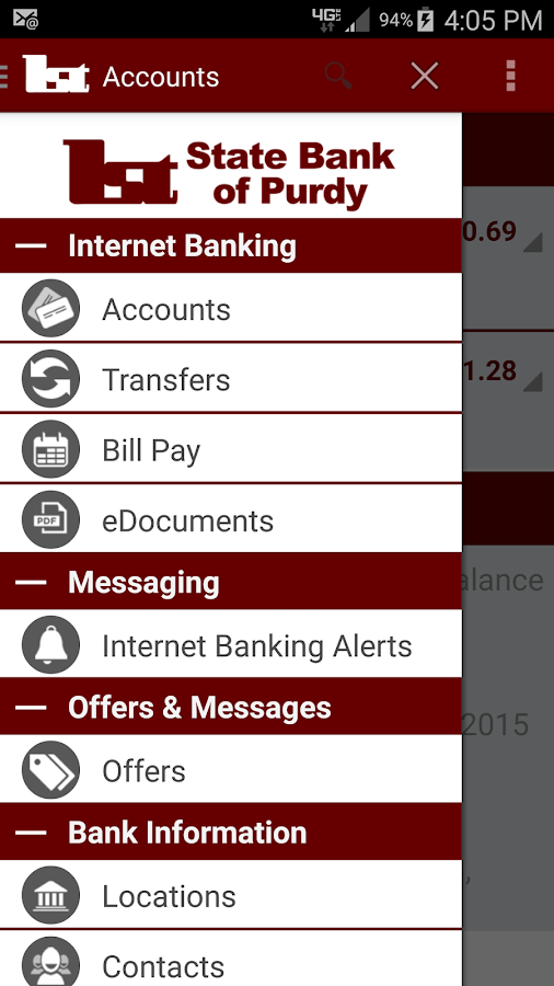 First State Bank of Purdy- screenshot
