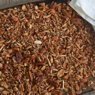 Grain Free Cinnamon Granola.