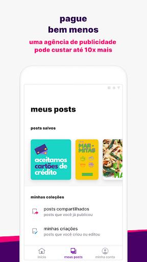 Ahazou - posts prontos para suas redes sociais screenshots 3