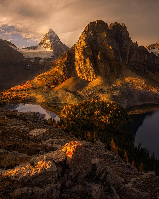 Photo: Mt Assiniboine in the Rockies - The Matterhorn of Canada...