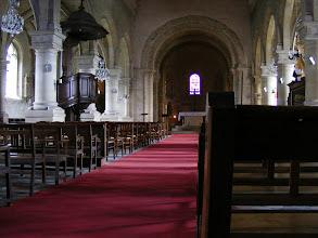 Photo: The church interior.