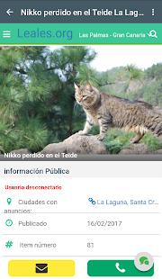 Leales.org - Animales sin hogar - náhled