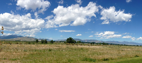 Photo: Continuing our road trip, passing by Big Sky country in Montana. — at Anaconda, MT