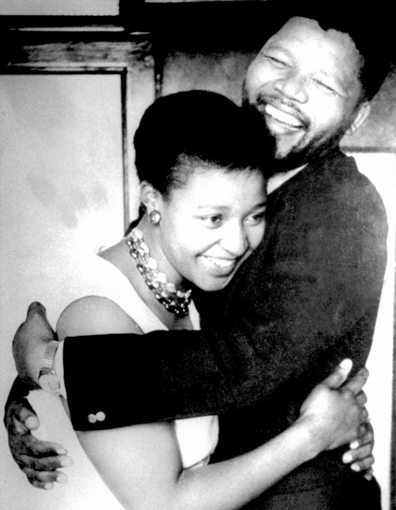 Her marriage life with Mandela was short-lived' as he was arrested in 1963 and sentenced to life imprisonment for treason.
