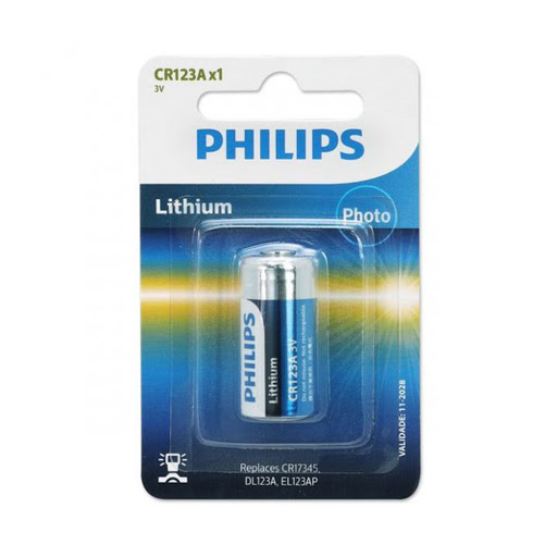 Pin Philips CR123A