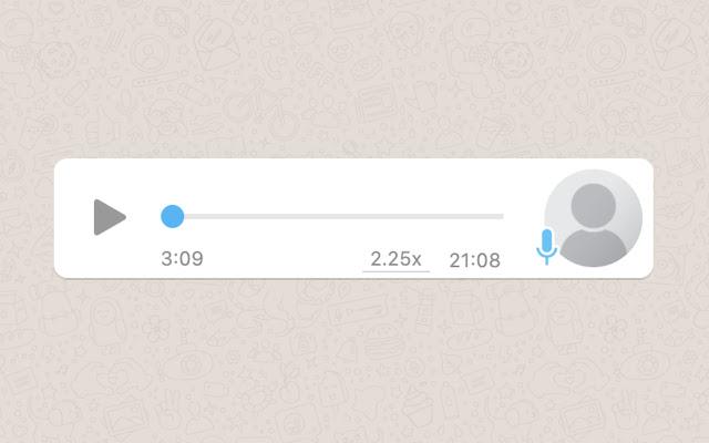 Audio Speeder - Controller for Whatsapp