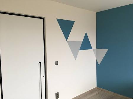 Kinderkamers Kortenaken - schilderen modern design slaapkamer