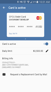 Chevron FCU Mobile Banking screenshot 6