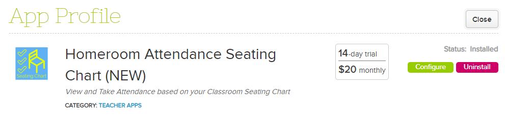 homeroom attendance seating chart app quickschools support