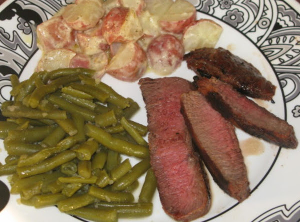 Grilled Flat Iron Steak Recipe