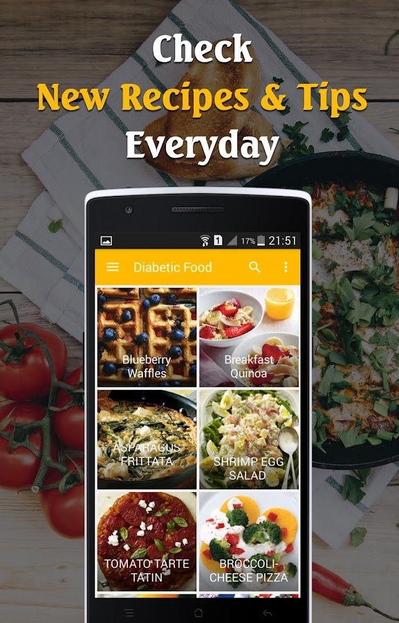 Diabetic food recipes free android apps on google play diabetic food recipes free screenshot forumfinder Images
