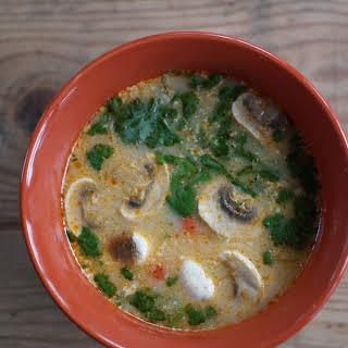 Tom Yum - Thai Soup.