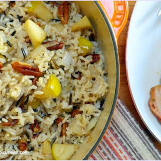 Harvest Rice with Apples and Pecans.