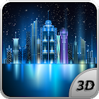 Space City 3D LWP icon