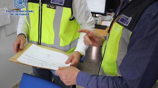 Los arrestados están acusados de delitos contra los derechos de los ciudadanos extranjeros y falsedad documental.