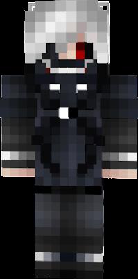 Ghoul Nova Skin - Skins para minecraft pe tokyo ghoul