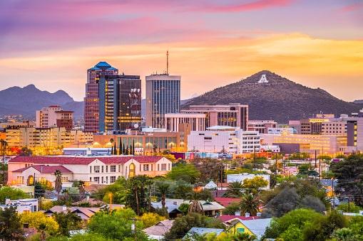 Tucson, AZ Skyline