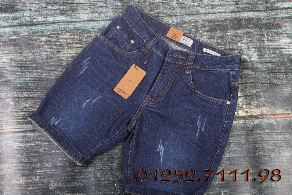 Quần short jeans hiệu MANGO hàng VNXK (size 30-34)