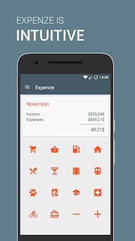android Expenze - Ausgaben Manager Screenshot 0