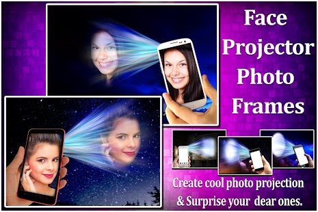 Face Projector Photo frames Screenshot