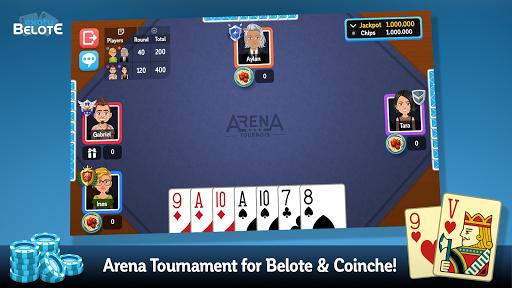 Multiplayer Belote & Coinche 6.5.0 screenshots 4