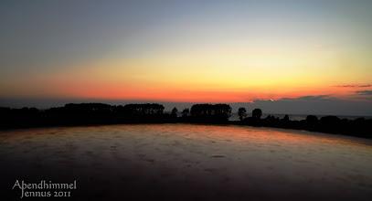 Photo: Abendhimmel