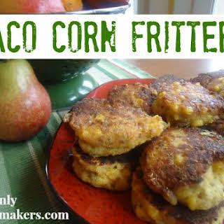 Taco Corn Fritters.